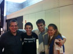 Jose Roberto, Enrico, Cleto e Ana Lucia